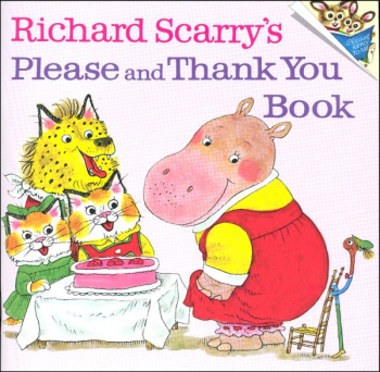 Richard Scarry Please & Thank You Book