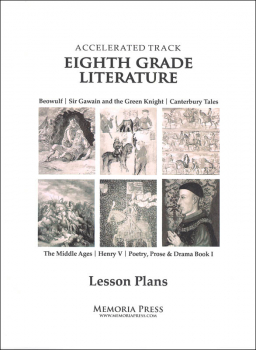 Eighth Grade Accelerated Literature Lesson Plans