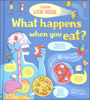 Look Inside What Happens When You Eat? (Usborne)