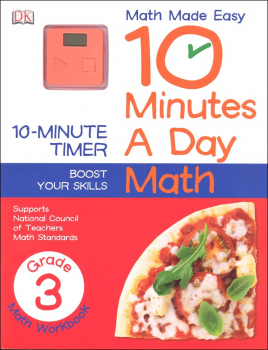 10 Minutes A Day: Math Third Grade