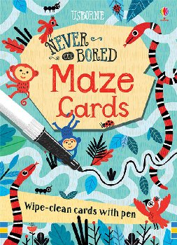 Never Get Bored Maze Cards