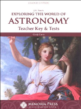 Exploring the World of Astronomy, Teacher Key & Tests