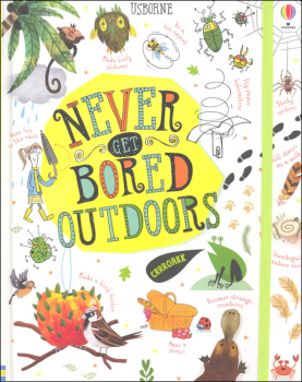 Never Get Bored Outdoors Activity Journal