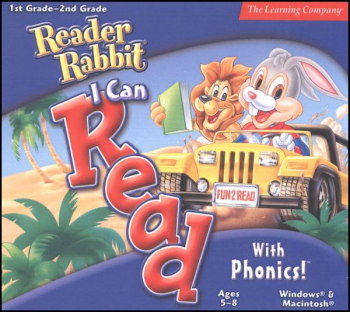 Reader Rabbit I Can Read with Phonics CD-ROM
