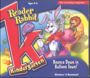 Reader Rabbit Kindergarten CD-ROM: Bounce Down Balloon Town