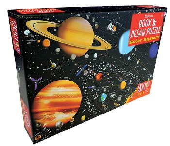 Solar System Book and Jigsaw Puzzle (200 pieces)