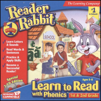 Reader Rabbit Learn to Read Phonics 1st-2nd Grade CD-ROMS