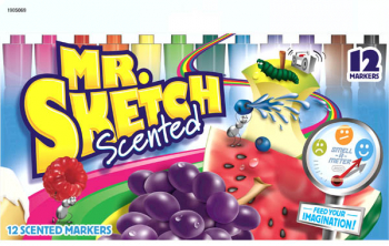 Mr. Sketch Scented Markers - 12 Color Set