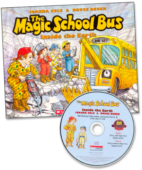 Magic School Bus Inside the Earth with CD