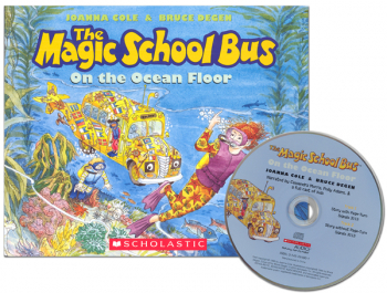Magic School Bus on the Ocean Floor with CD