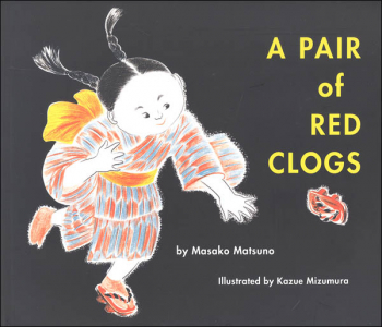 Pair of Red Clogs (softcover)