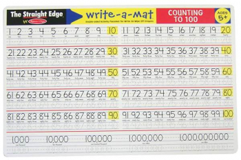 Counting to 100 Write a Mat