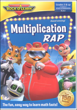 Multiplication Rap DVD