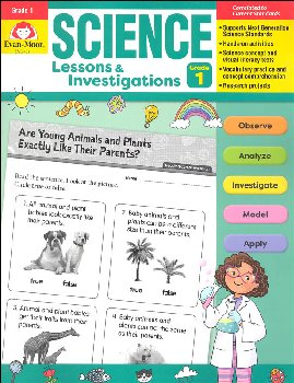Science Lessons and Investigations: Grade 1
