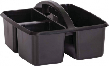 Black Plastic Storage Caddies
