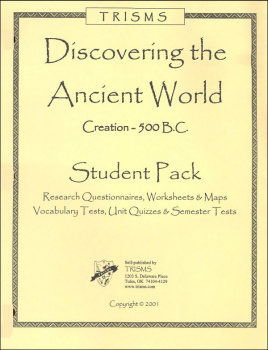 Discovering the Ancient World Student Pack