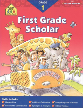 First Grade Deluxe Scholar Workbook