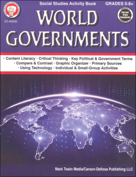 World Governments Social Studies Activity Book