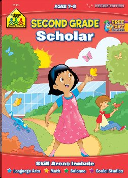 Second Grade Deluxe Scholar Workbook