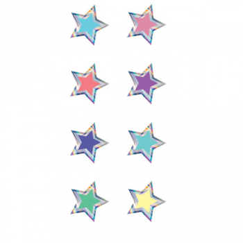 Mini Stickers - Iridescent Stars