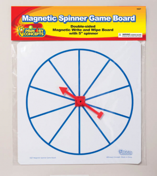 Magnetic Spinner Game Board (Write & Wipe)