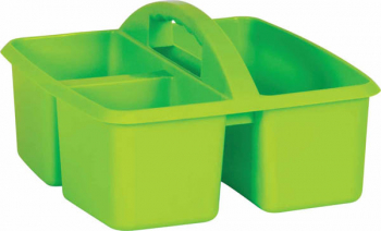 Lime Plastic Storage Caddies