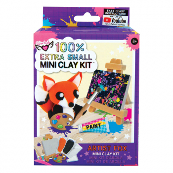 100% Extra Small Mini Clay Kit - Fox