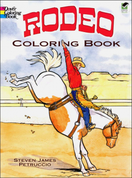 Rodeo Coloring Book