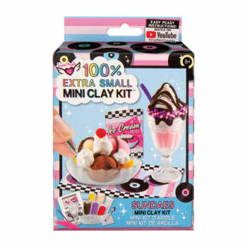 100% Extra Small Mini Clay Kit - Sundaes