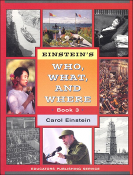 Einstein's Who, What and Where Book 3