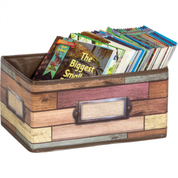 Reclaimed Wood Decorative Small Storage Bin