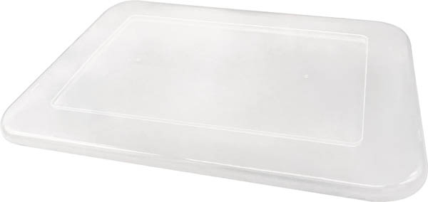 Storage Bin Lid - Clear Plastic (Large)