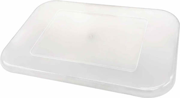 Storage Bin Lid - Clear Plastic (Small)