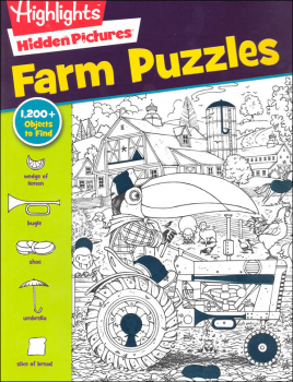 Hidden Pictures: Farm Puzzles