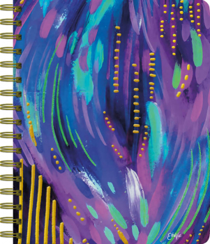 Lush Glow Undated Planning Journal