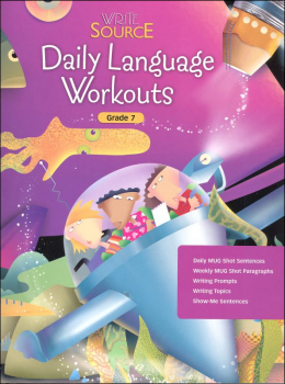 Write Source (2005 ed) Daily Language Grade 7