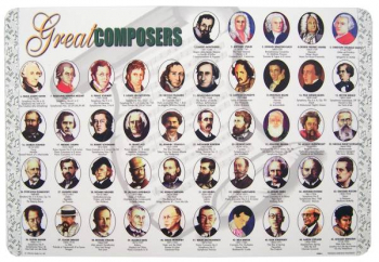 Great Composers Placemat