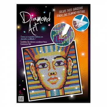 Sequin Art Diamond Art - King Tut