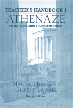 Athenaze: Intro to Ancient Greek Teacher Book 1 Second Edition