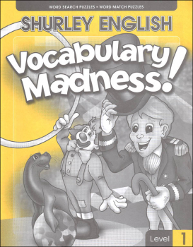 Shurley English Vocabulary Madness Level 1