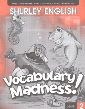 Shurley English Vocabulary Madness Level 2