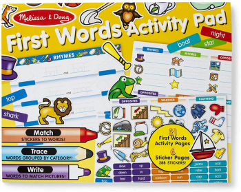 First Words Sticker Activity Pad