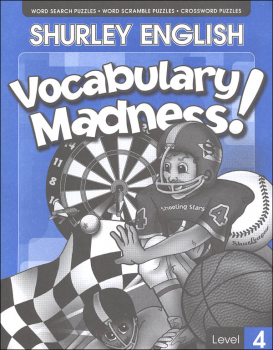 Shurley English Vocabulary Madness Level 4