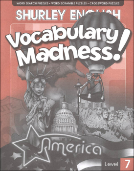 Shurley English Vocabulary Madness Level 7