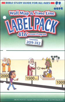 Label Pack for Lessons 209-312 (New)