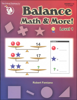 Balance Math & More Level 1
