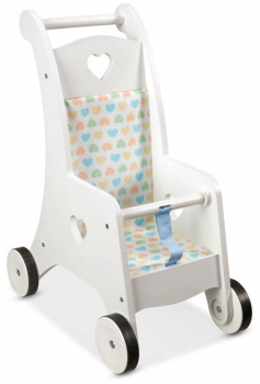 Mine to Love Wooden Play Stroller