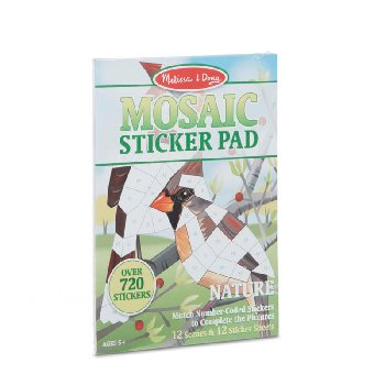 Mosaic Sticker Pad Nature