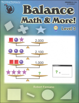 Balance Math & More Level 3
