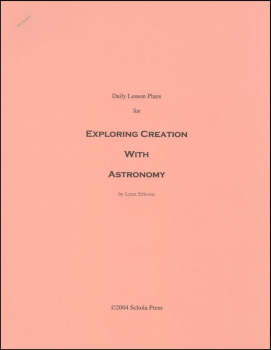 Daily Lesson Plans for Exploring Creation with Astronomy 1st Edition